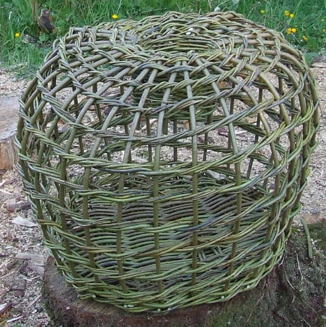 Making a Lobster Pot in Pictures Part 2